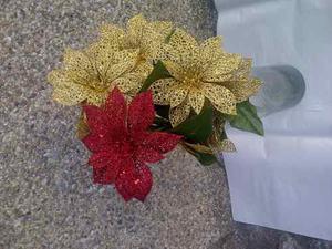 Set De Flores Escarchadas