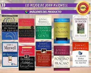 Super Coleccion Jhon Maxwell+ Extras