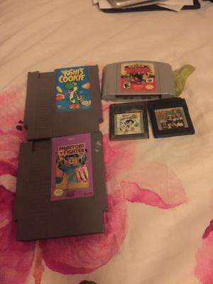 Vendo O Cambio Juegos De Nes Gameboycolor Y N64 Leea Descrip