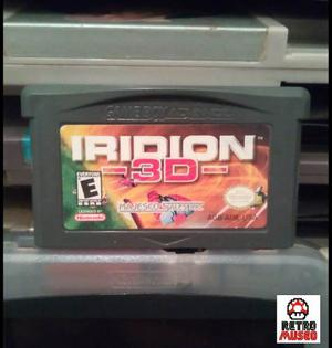 *retro* Iridion 3d Para Game Boy Advance