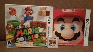 Click! Original! Super Mario 3d Land Para Nintendo 3ds