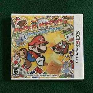 Juego Nintendo 3ds Paper Mario Sticker Star Importado