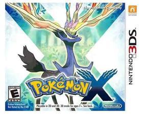 Juego Para Nintendo 3ds Pokemon X Usado En Buen Estado