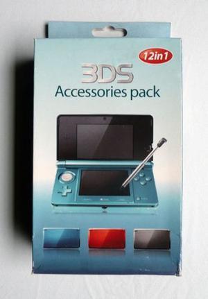 Kit 12 En 1 Para Nintendo 3ds