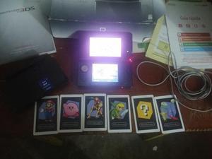 Nintendo 3ds Con Caja Y Accesorios.