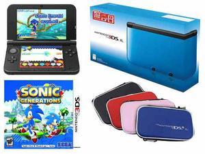 Nintendo 3ds Xl Nuevo En Caja (juego Incluido + Estuche)