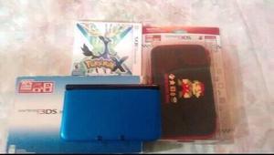 Nintendo 3ds Xl Perfecto Estado Con Juego Original(pokemonx)