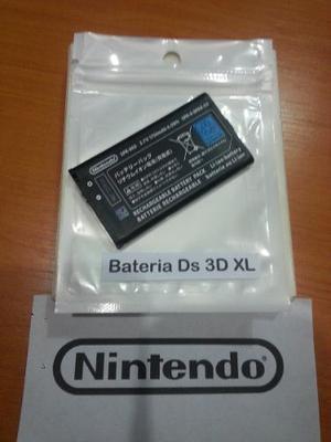 Pila Bateria Nintendo Ds 3dxl Original, Somos Tienda Fisica