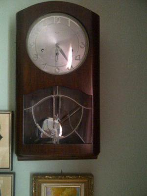 Reloj De Pared Antiguo Marca Kienzle Aleman
