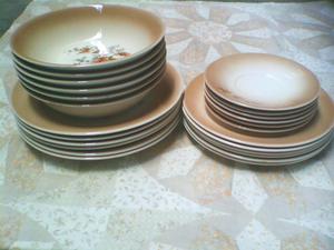 Antigua vajilla japonesa 6 puestos porcelana posot class for Vajilla porcelana