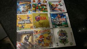 ¡pack De 9 Juegos Para 3ds!