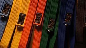 Cintas Amarilla Para Karate, Judo Y Taekwondo. Marca Mushin.