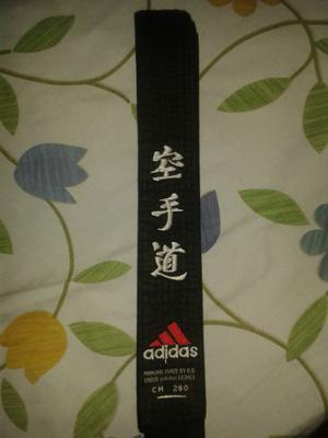 Cinturon adidas Original De Karate Aprobado Wkf Bordado