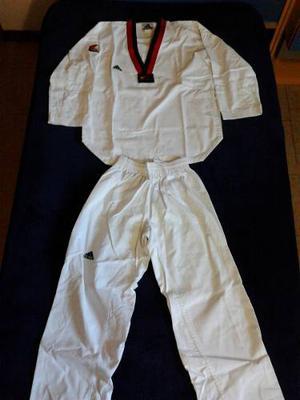 Dobok Taekwondo adidas Adi-star Uniforme Talla 2 Niño Usado