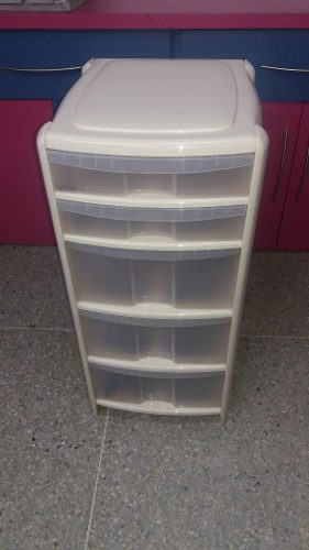 Gavetero De Plástico De 5 Compartimientos
