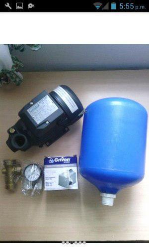 Kit Sistema Hidroneumatico Completo Bomba Y Kit De Pulmon 5
