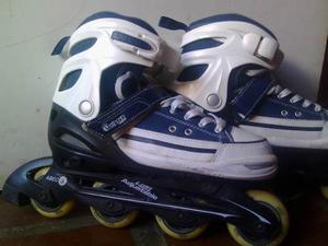 Patines En Linea Marca Chicago Skates Talla Ajustable()