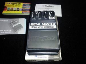 Pedal Digitech Metal Master Heavy Metal Distortion