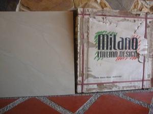Porcelanato 60x60 Beig Marmolizado Brillante Milano Italiano