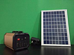 Sistema De Poder Solar Recargable Ventilador De Techo Y Más
