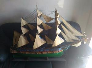 Barco De Madera De Colección 1,2 M L X 1.2m A (aprox)
