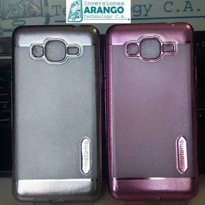 Forro Antigolpe Motomo Samsung J2 Prime Colores Metalizado