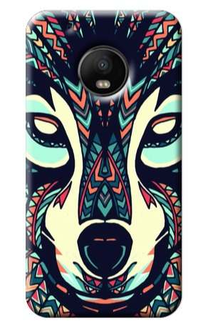 Forros Celulares Motorola Moto G5 Plus Arte Animales Azteca
