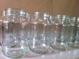Frasco Vaso Botella Envase Vidrio 500cc (1/2 Litro) Sin Tapa