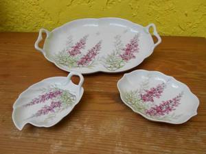 Juego De Bandejas De Porcelana De Verona