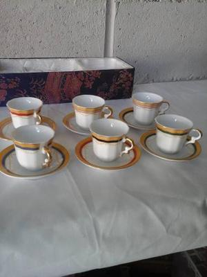 Juego De Te Miniatura Porcelana