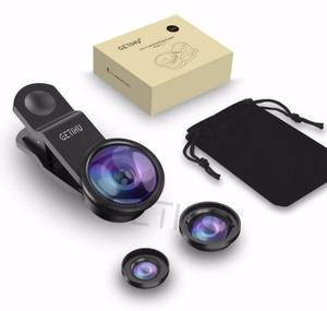 Lentes Macro Fisheye Angular Para Celular Android Iphone