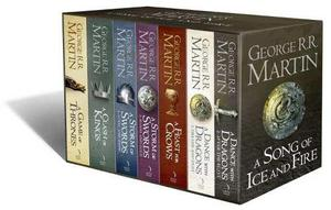 Libros Games Of Thrones Saga Completa + Libros Regalo Autor