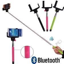 Selfie Monopod Con Bluetooth Recargable Incorporado