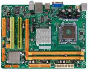 Tarjeta Madre Biostar G31-m7 Te Ddr2 + 1gb Ram + 150 Gb Hdd