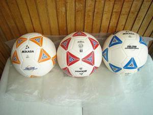 Balón De Fútbol Campo Mikasa. Original. Numero 5. Leer