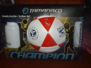 Balón De Fútbol Campo Numero 5 Marca Tamanaco