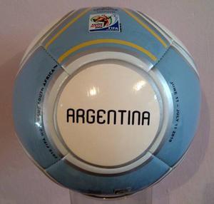 Balón Del Mundial Sudáfrica  De La Selección