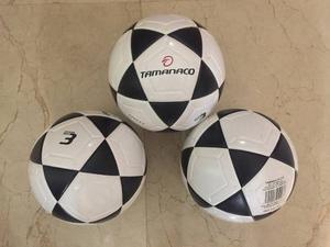 Balón N3 Tamanaco Blanco Con Negro Nuevo Original Bajo Bote