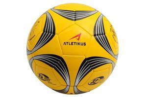 Balon De Futbol N5 Sun Atletikus (amarillo/negro)
