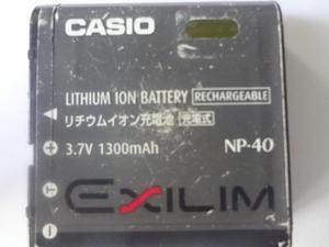 Bateria Casio Np-40 Original Usada En Perfecto Estado