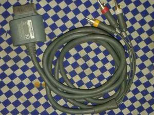 Cable De Audio Y Video Xbox360