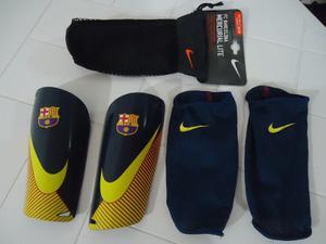 Canillera De Futbol Nike/fc Barcelona. Original!!!