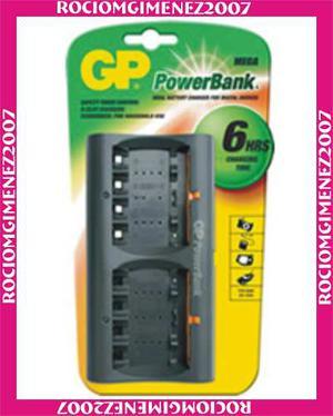 Cargador Universal De Baterias Gp. Aa - Aaa
