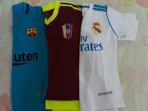 Conjuntos Real Madrid, Barcelona, Fvf Pregunte Antes De Ofer