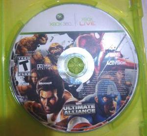 Juego Original Xbox 360 - Ultimate Alliance De Marvel