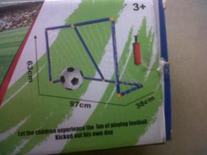 Kit De Futbol Para Niños, 2 Arcos Y 1 Balon