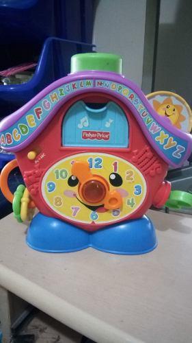 Reloj Cucu De Fisher Price Apreden Comingo