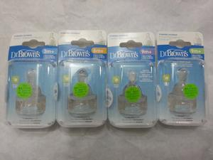 Set De 2 Tetinas Dr Browns Estandar (boca Angosta)