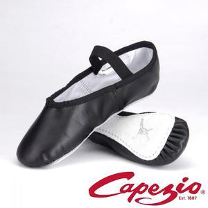 Zapatillas Media Punta Cuero Capezio Daisy Originales