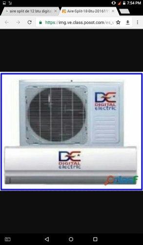 Aire Acondicionado Split 12 Mil Btu Digital Electric